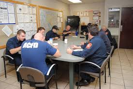 Firefighters discussing action plans and learning from experiences means a better chance to tackle the issue should it arrise again.