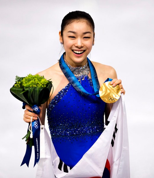 Kim Yuna at the Vancouver 2010 Winter Olympics