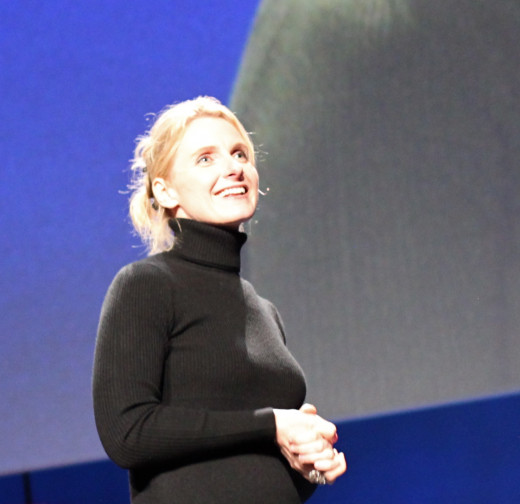 Elizabeth Gilbert author of Eat Pray Love