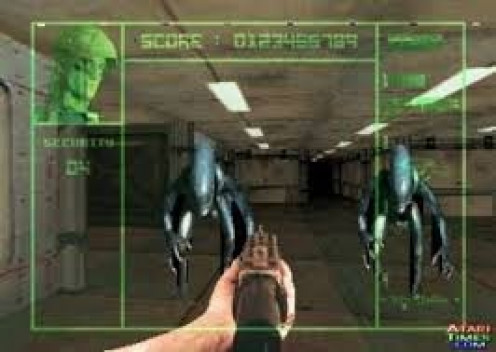 Alien vs. Predator has many cut scenes and you can play as the alien or as the Predator. The game is played as first person shooter.