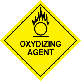 Oxidizing agent Safety Sign