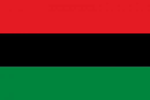 American Black Nationalism Flag