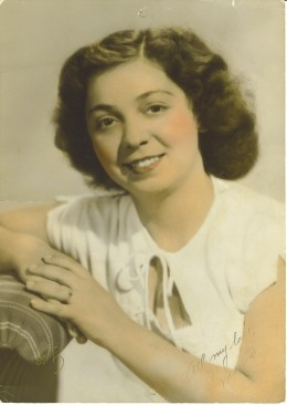 My Grandmother at 18