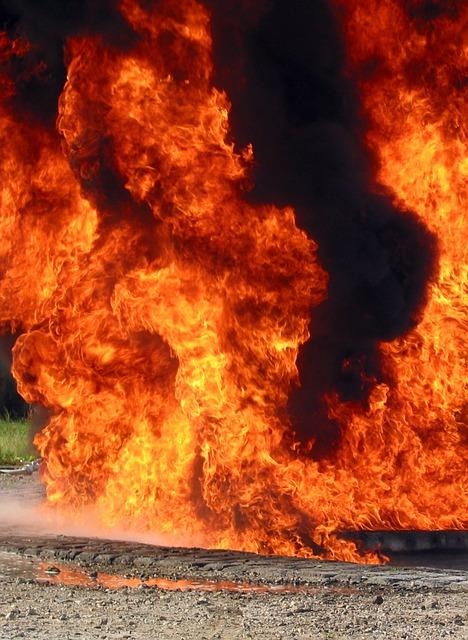 Fire Flame Color Smoke Heat