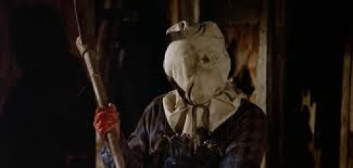 Jason Vorhees wore a sheet instead of a hockey mask on the second Friday the 13th film.