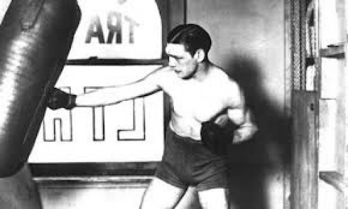 Harry Greb is one of the best middleweight boxers in the sports history and he was also a quality light heavyweight as well.