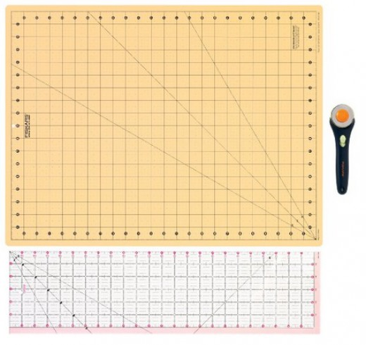 One of the best tools for quilters who need to cut triangles.