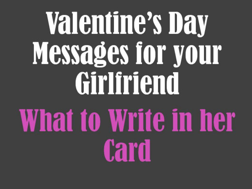 Valentine 39 S Day Messages For Girlfriend What To Write In