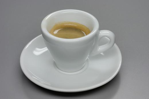 Creamy espresso.