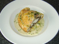 Balmoral Chicken Pasty with Clapshot and Peppercorn Sauce