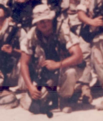 Private First Class Domingo Arroyo, Jr. This image is a work of a U.S. Marine Corps Marine or employee, taken or made as part of that person's official duties. As a work of the U.S. federal government, the image is in the public domain.