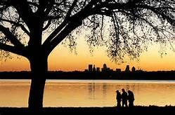 White Rock Lake at Sunset