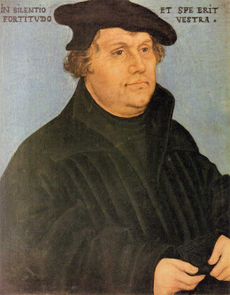 Martin Luther 1559 in Regensburg