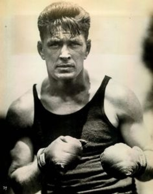Gene Tunney was a legendary light heavyweight and heavyweight champion of the world. The only man to beat him was Harry Greb and he svagely avenged it the next month.
