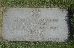 Virgilio N. Cordero, Jr. Used by permission from find a grave.