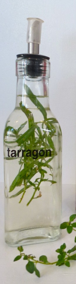"Start with the best wine vinegar you can afford. Your ""secret"" recipe tarragon vinegar will receive rave reviews."