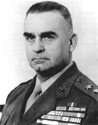 Lieutenant General Pedro Augusto del Valle.This work is in the public domain in the United States because it is a work prepared by an officer or employee of the United States Government as part of that person's official duties.