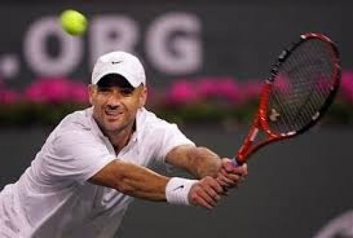 Andre Agassi was a mainstream celebrity as well as a great tennis player who hated to lose. His career and personal life was chronicled constantly by the press.,