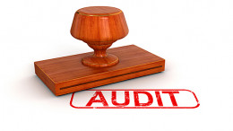 You have been audited