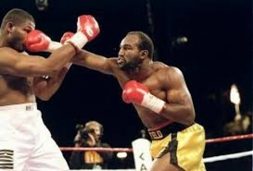 Evander Holyfield fought Riddick Bowe three times under modern day boxing rules using gloves, wearing a mouthpiece and keeping punches above the waistline among other things.