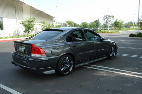 Modified Volvo with Ronal aftermarket wheels