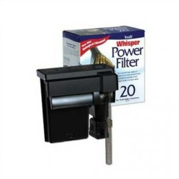 The Tetra Whisper is one of the best aquarium filters you will find and comes in models for 10, 30 and 55-gallon tanks.