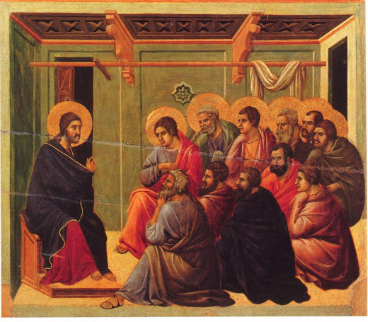 The Maesta by Duccio, ( 1308-1311)