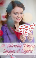 Happy Valentine Poems and Sayings