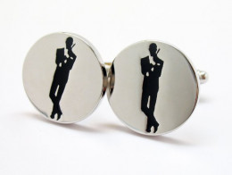 James Bond cuff links