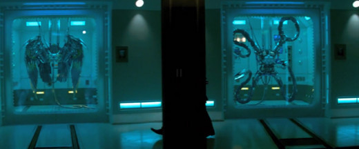 Vulture's Wings (Left) and Doctor Octopus' Tentacles (Right)