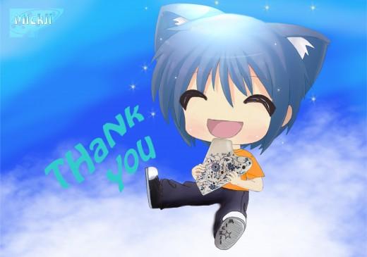 Blufy salutes you with the ocarina - (C) Mickji