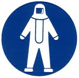 PPE sign for Safety Clothing