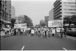 Women's Movement protesters in Washington D.C. in 1970