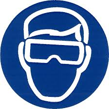 PPE sign--Wear Goggles