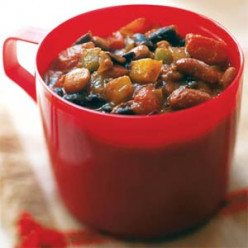 "Carb Diva's ""Un-meaty"" Vegetarian Chili"