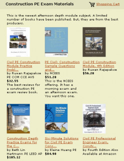 Design Standards for the NCEES Civil Construction Professional Engineering Exam