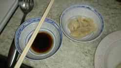 Vegetarian Chinese dumplings - jiaozi