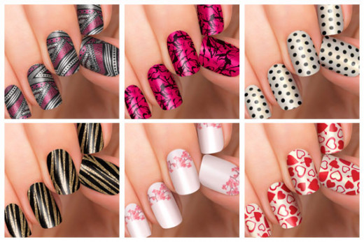 Tons of Nail Decals