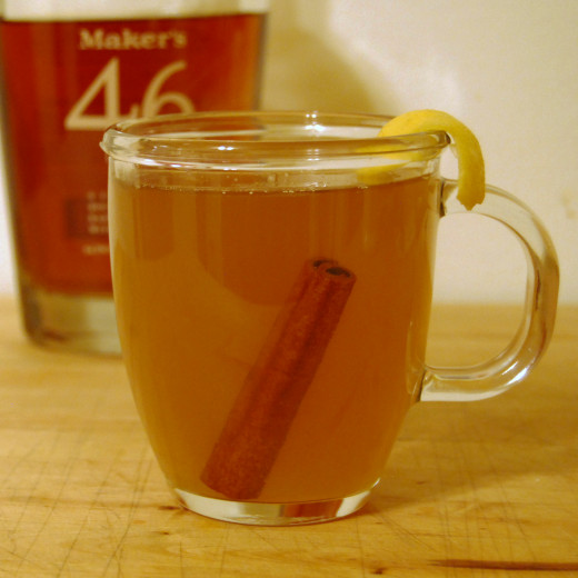 Traditional Hot Toddy.