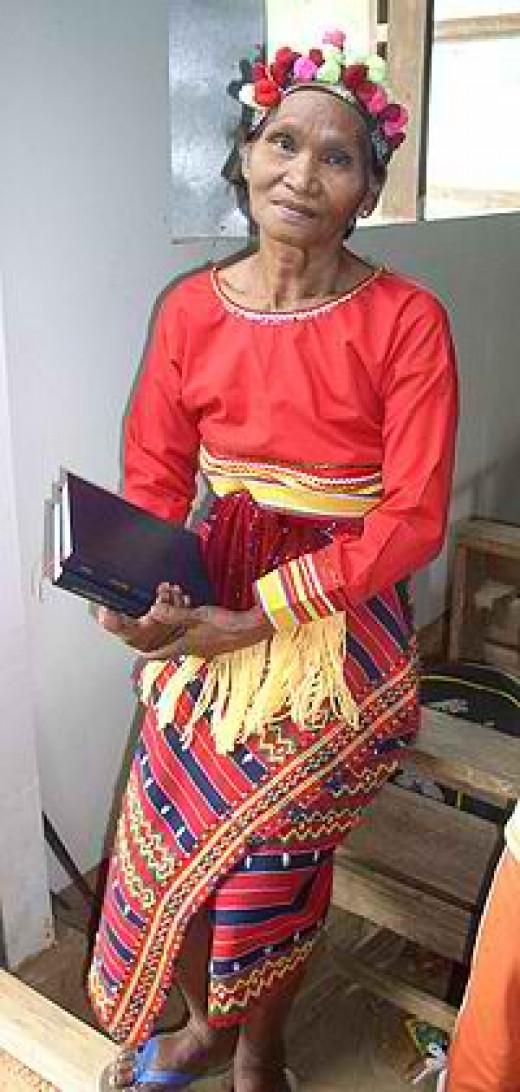 Igorot woman