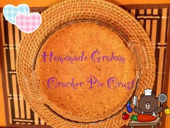 Easy Graham Cracker Pie Crust Recipe
