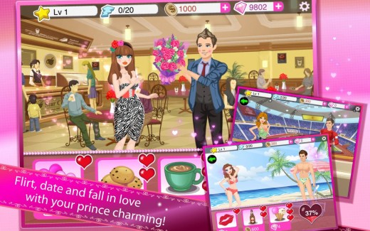 Customize your avatar, flirt with boys, go shopping, earn money- the possibilities are endless with Star Girl.
