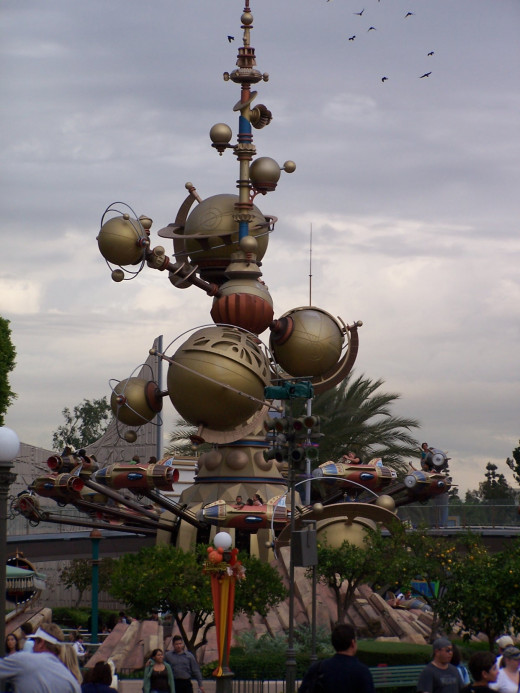 The Astro-Orbitor on a cloudy day.