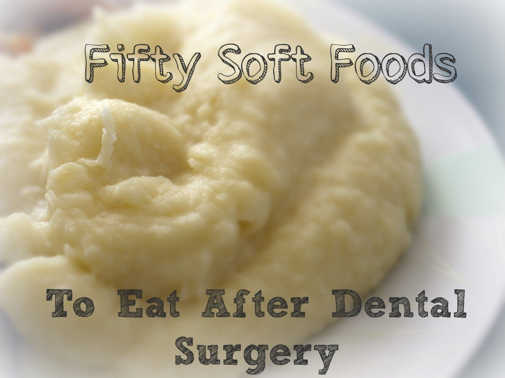 50 soft foods to eat after wisdom teeth removal
