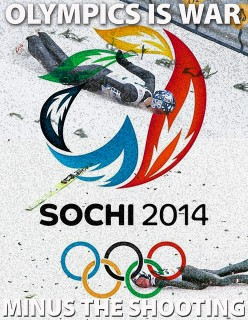 Poem to Pray for Peace in Sochi - the Winter Olympics 2014