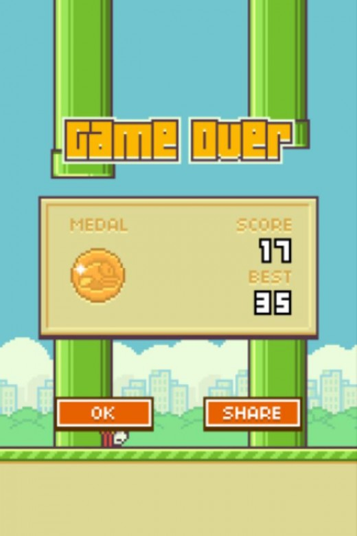 As you can see after three solid days playing I have only managed a high score of 35.