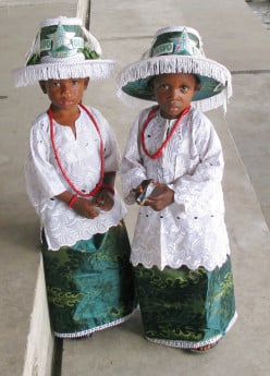 Costume and Regalia Of Eyo Masquerades