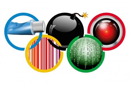 Sochi's Olympic Rings: Toothpaste Explosives, Bombs, IT Horrors, Discrimination Controversies, Hackers Brigade.