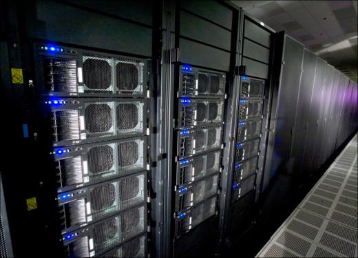 Roadrunner supercomputer