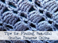 Tips for Finding Crochet Patterns Online